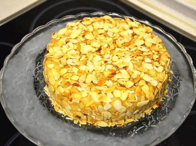 Торт Муравейник без мясорубки с орехами
