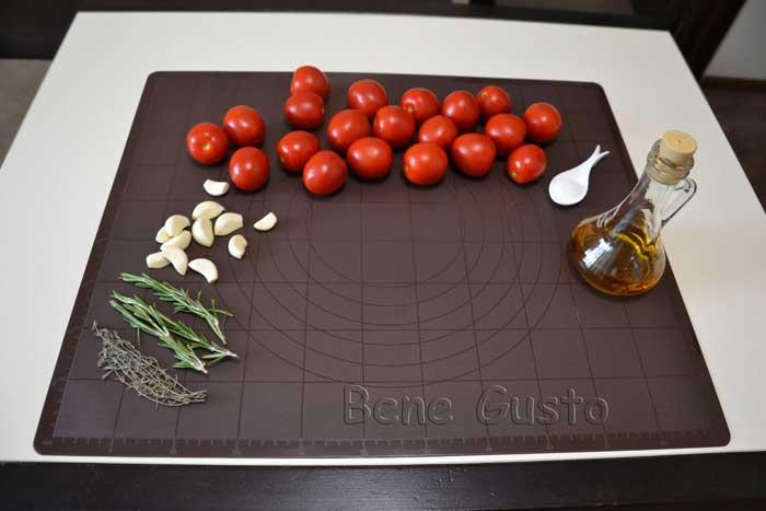 ингредиенты на вяленые томаты