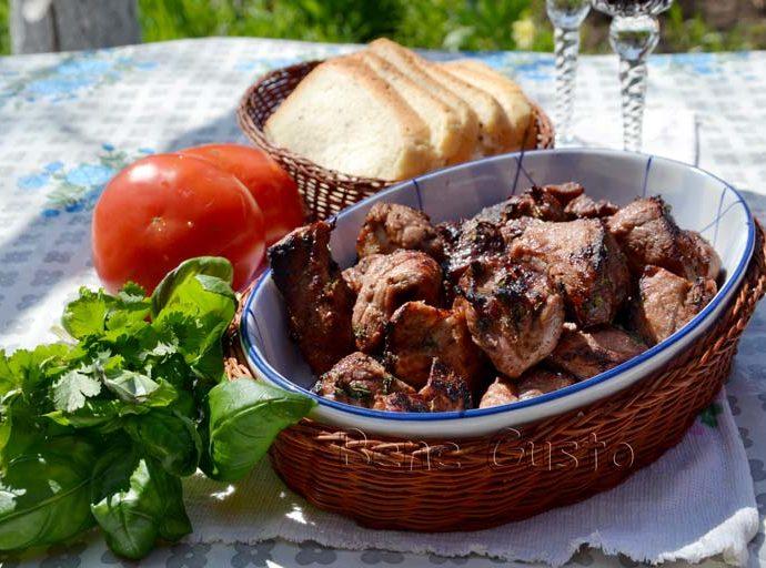 Cочный и вкусный шашлык из говядины