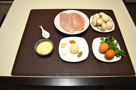 ингредиенты на куриные котлеты