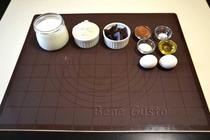ингредиенты на шоколадные блины