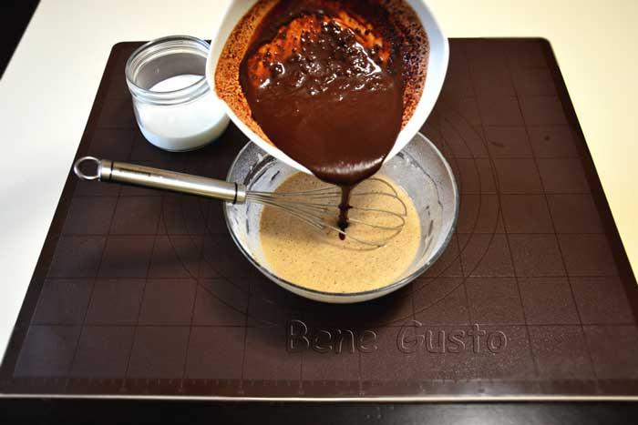 тесто для шоколадных блинов