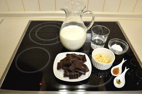 горячий шоколад ингредиенты