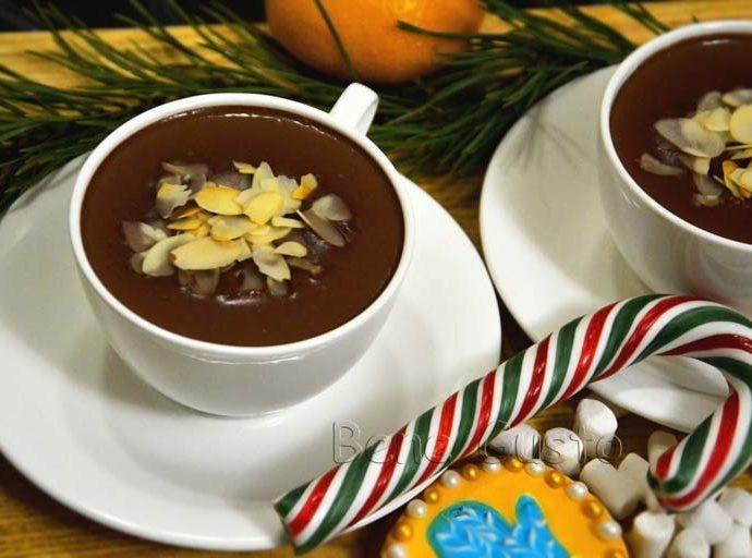 Ароматный горячий шоколад: секрет приготовления