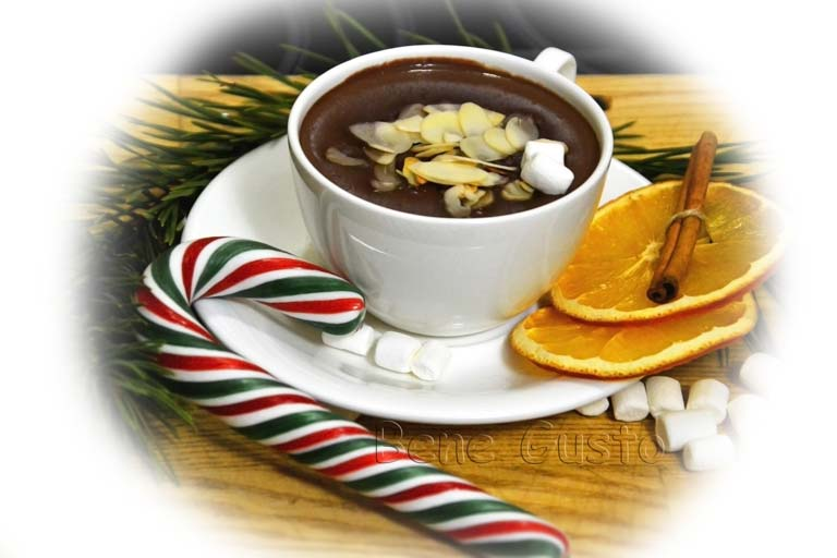 горячий шоколад напиток