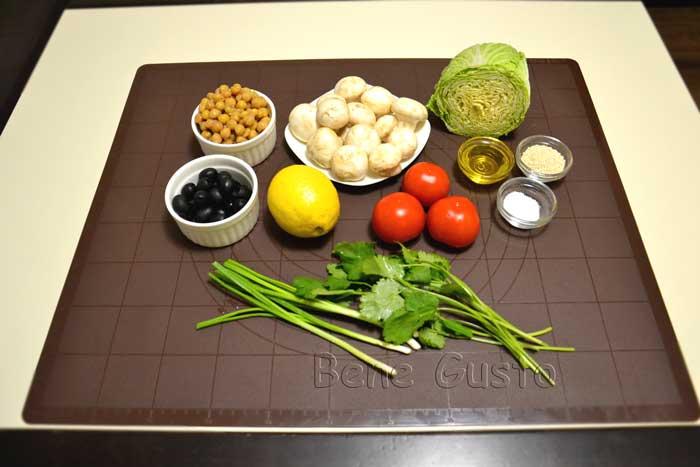 салат с нутом ингредиенты