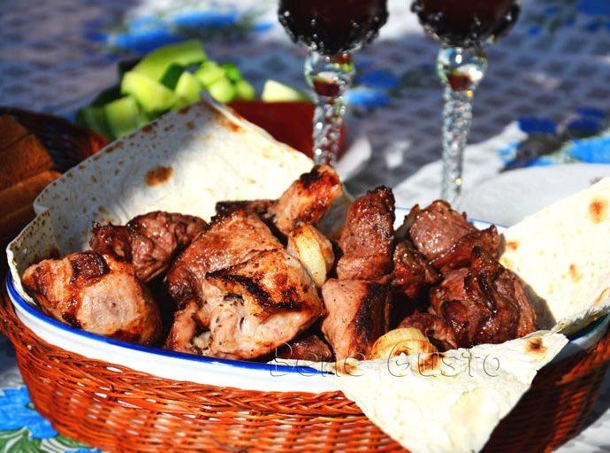 Шашлык из свинины (лучший маринад)