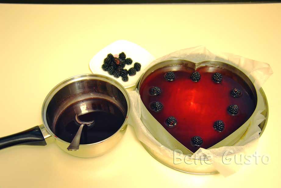 делаем третий ягодный слой