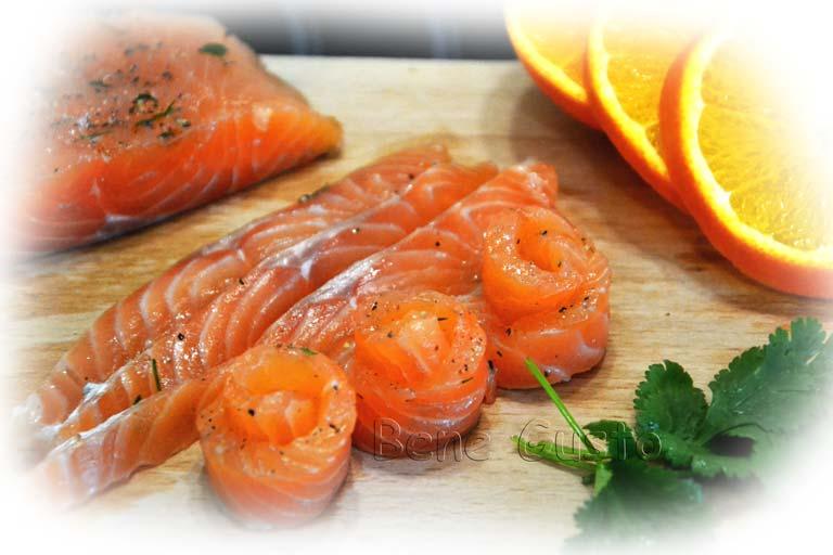 засол лосося дома