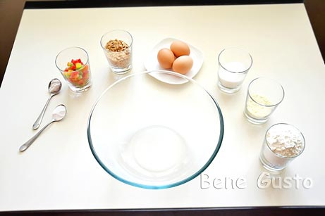 состав на рецепт печенье бискотти