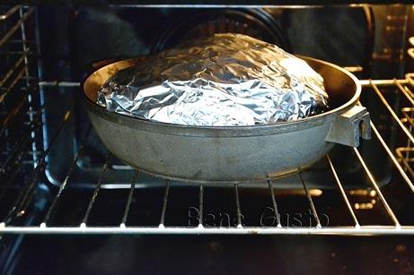запекаем мясо в духовке