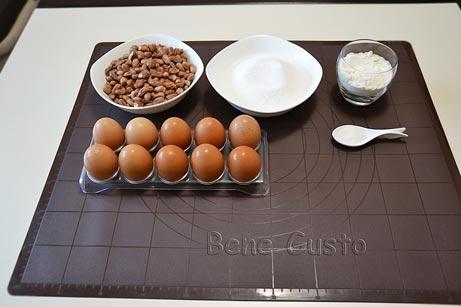 ингредиенты на киевский торт