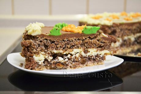 киевский торт в разрезе