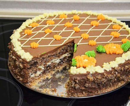 Киевский торт по-домашнему рецепту