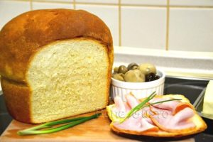 десертный молочный хлеб