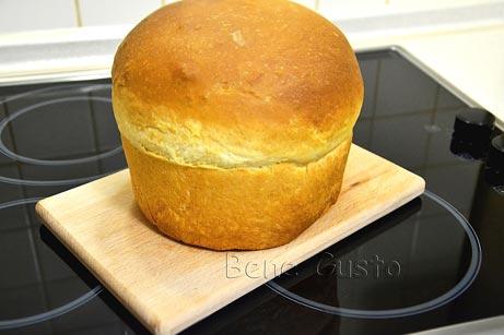 вкусный молочный хлеб