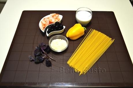 состав паста на сковороде