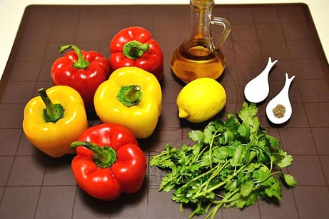 состав теплого салата