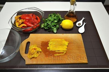 нарезаем болгарский перец соломкой