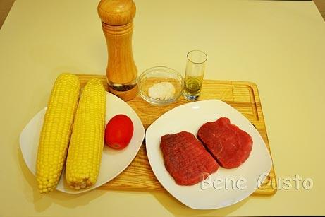 ингредиенты на рецепт говяжий стейк