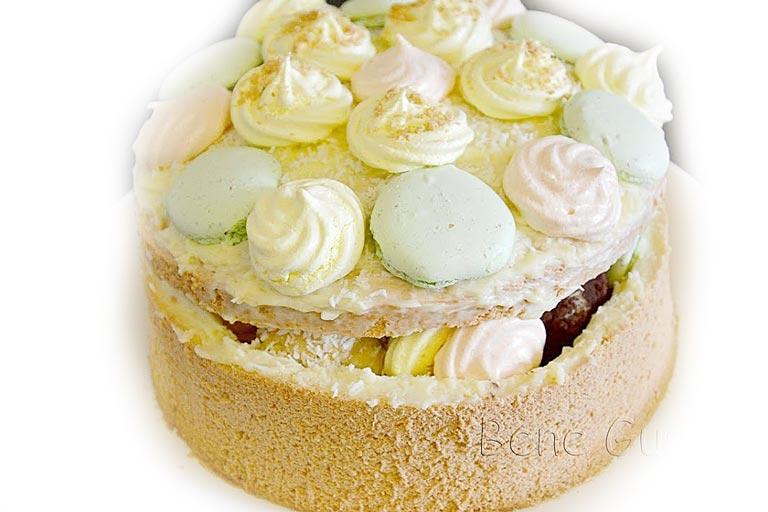 торт шкатулка с вареной сгущенкой