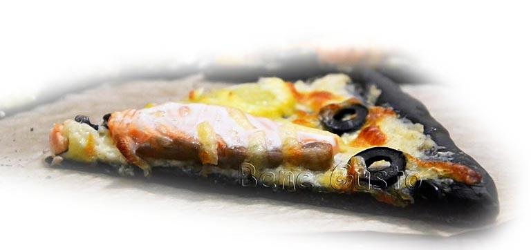 рецепт черной пиццы