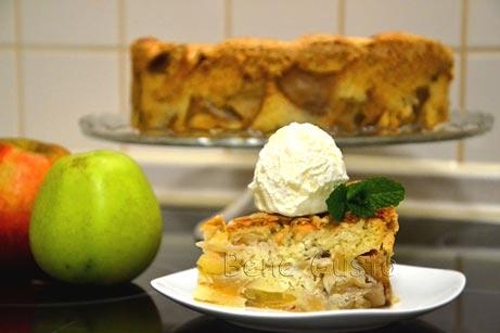 рецепт пирога з яблуками в духовці