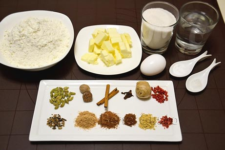 ингредиенты на рецепт имбирные пряники