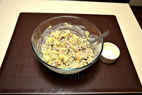 правильний салат Олів'є