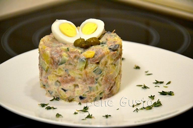 салат Олів'є оригінальний рецепт