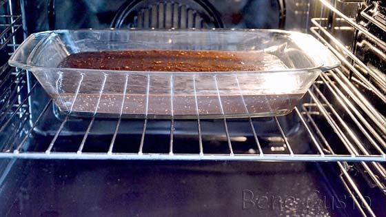 Выпекаем шоколадный брауни в духовке