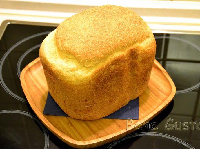 Пышный домашний кукурузный хлеб