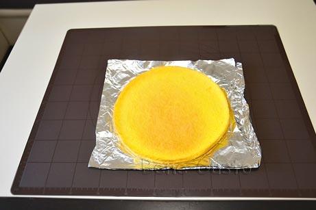 Масляный бисквит для муссового торта