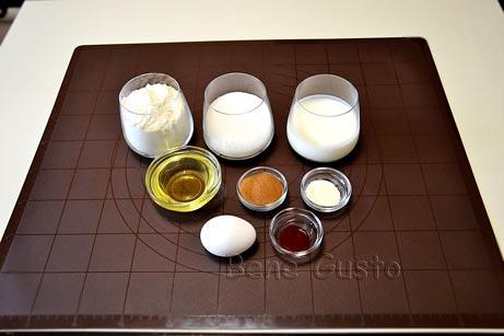 ингредиенты на рецепт капкейки красный бархат