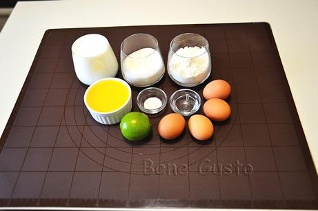 Ингредиенты на рецепт умный пирог