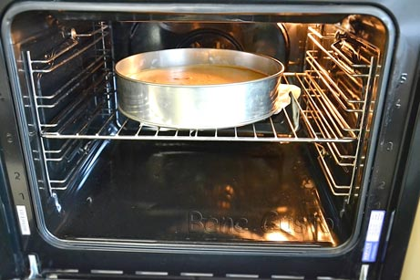 Выпекаем умный пирог 70-80 минут при температуре 180 градусов.