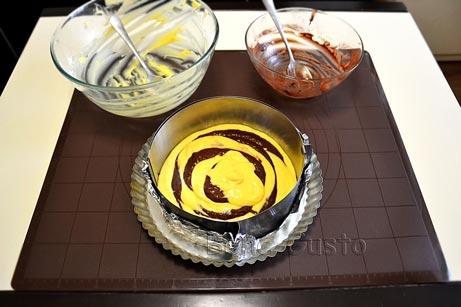 тесто на сметане для торта зебра
