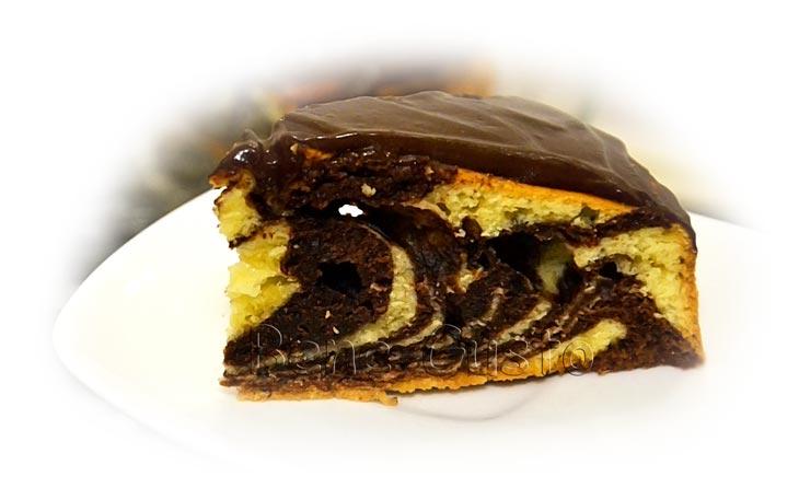 как испечь очень вкусный торт зебра