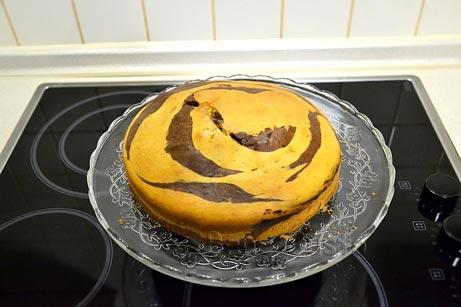 пирог зебра классический рецепт