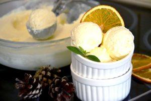 Апельсиновое мороженое рецепт