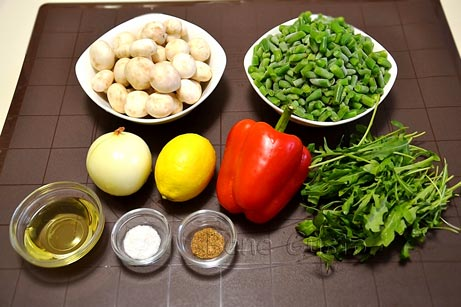 рецепт салата с шампиньонами без майонеза