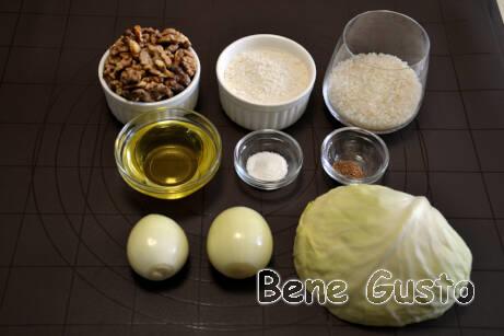 Ингредиенты для рецепта постных котлет