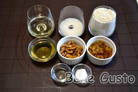 Ингредиенты на рецепт печенье на рассоле