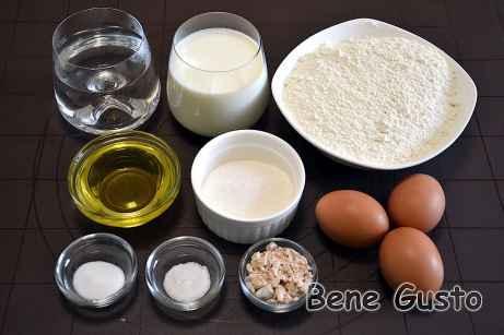Рецепт блинов на дрожжах