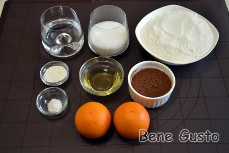 Ингредиенты на пряники на воде без меда