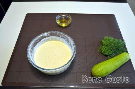 Тесто для кабачкового блинного торта