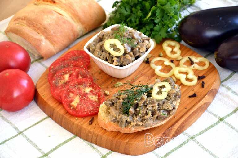 Баклажаны как грибы с луком