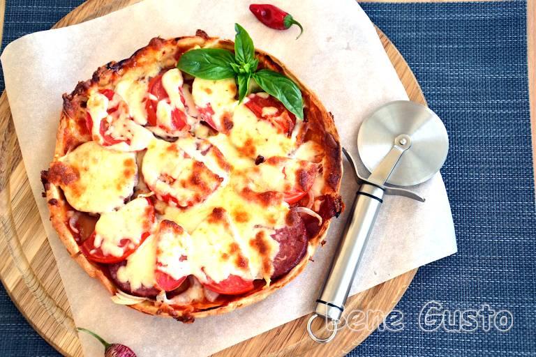 Лінива піца за 15 хвилин