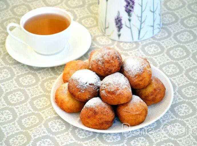 Творожные пончики на сковороде из детства