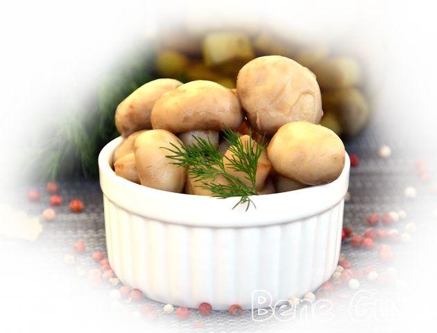 Маринованные грибы простой рецепт